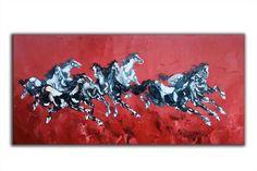 Oil painting On Canvas Still Life - - Oil painting Ideas Mixed Media - Oil painting Winter Night - - Abstract Canvas Art, Oil Painting Abstract, Wall Canvas, Painting Art, Modern Art Paintings, Original Paintings, Extra Large Wall Art, Large Art, Horse Oil Painting