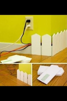 Hiding Electric Cords