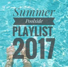 Summer has officially begun (for me), and although my pool isn't open yet - I still have a poolside playlist ready to go! Just add strawb...