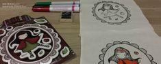 Tutorial DIY - Cómo estampar sellos en telas.