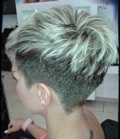 Short Pixie Cut