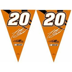 Tony Stewart 20 25ft Party Pennant FlagsPURCHASE FROM DK HUSKY RACING ON OR BEFORE 12172008 AND GUARANTEED DELIVERY ON OR BEFORE CHRISTMAS EVE TO ANY LOWER 48 US ONLY -- Click image for more details.