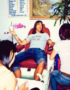 Love it ~ real men get pedicures