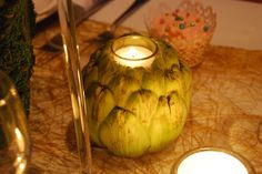 artichoke candle- love this! :)