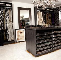 What girl wouldn't LOVE to have this closet!