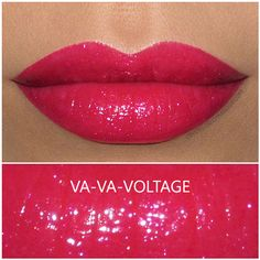 Buxom Shimmer Shock Lip Stick in Va-Va-Voltage, review and swatch!