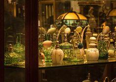Antique Perfume Bottles by grandmasandy+chuck, via Flickr