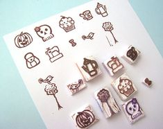 At Home With Crab Apple Designs: Carving Rubber Stamps and Scented Zip Pouches