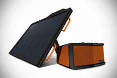 ECOXGEAR ECOSMART Solar-powered Bluetooth Speaker and Powerbank