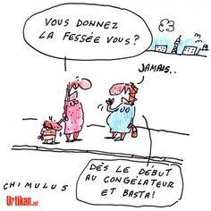 La caricature du jour ; «Pour le Conseil de l'Europe, la France ne respecte pas la Charte sociale européenne, en ne disposant pas d'une législation claire sur les châtiments corporels infligés aux enfants»