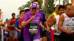 91-Year-Old Breaks Records at Rock 'n' Roll Marathon