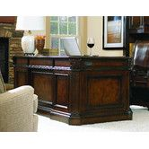 Found it at Wayfair - European Renaissance II Executive Desk with Kneehole