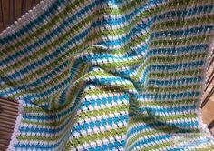 Melhor do Crochê: Manta para bebê - Meus trabalhos