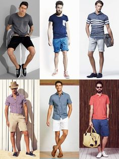 2014 Summer Capsule Wardrobe Additions: A Few Pairs Of Shorts Lookbook Inspiration