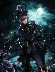 CIEL PHANTOMHIVE by K-Koji.deviantart.com on @DeviantArt :3 ♥ So F****** amazing *-*