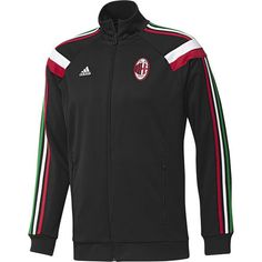 ac milan anthem jacket black AC Milan Official Merchandise Available at www.itsmatchday.com