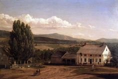 View in Pittsford, Vt. : Frederic Edwin Church : Museum Art Images : Museuma