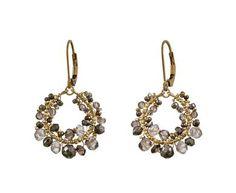 Dana Kellin | Mocha Mix Earrings in Designers Dana Kellin Cheap Chic at TWISTonline