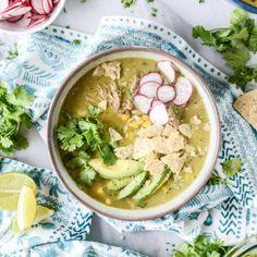 Late summer corn tortilla soup