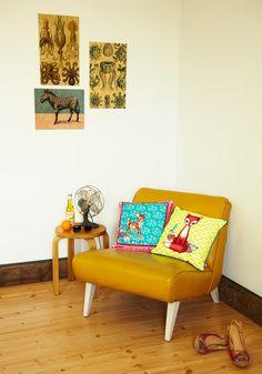 nice chair + a bit of kitsch
