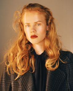 All Together Now in WSJ with Larissa Marchiori,Poppy Okotcha,Hayett McCarthy - - Fashion Editorial Beauty Shoot, Hair Beauty, Portrait Photography, Fashion Photography, Natural Blondes, Portrait Inspiration, Redheads, Red Hair, Editorial Fashion