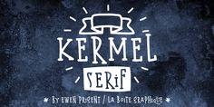 Kermel serif by La Boite Graphique on Creative Market