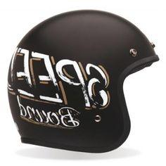 Bell Custom 500 Skratch Bonneville Open Face Helmet
