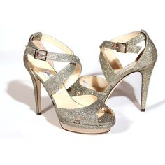 Jimmy Choo Kuki Lame Glitter Pump