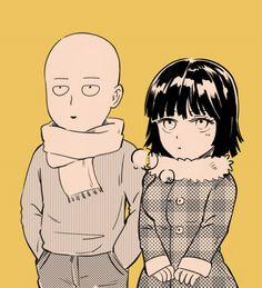Saitama and Fubuki & Manga One Punch Man Manga, One Punch Man 3, One Punch Man Funny, Fubuki X Saitama, Saitama Sensei, Tatsumaki One Punch Man, Saitama One Punch Man, Another Anime, Anime One