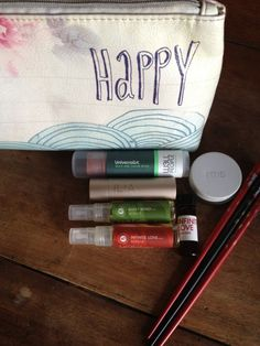 """Lotus Wei founder, Katie Hess's natural beauty products """"I love ILIA lipstick. Feels like lip balm —  yummy and smooth — but colorful and sexy like lipstick. Lovely."""""""