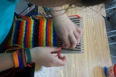 Weaving with Mr. E