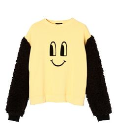 Candy Stripper(キャンディストリッパー)のSMILE ME SWEAT TOPS(スウェット)|イエロー