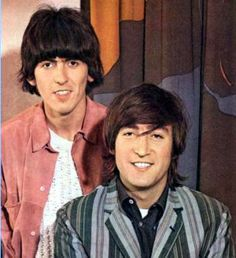 Photo of John and George for fans of The Beatles 7755935 Beatles Love, John Lennon Beatles, Beatles Photos, Beatles Band, George Harrison, Prinz Charles, Prinz William, Beverly Hills, Liverpool