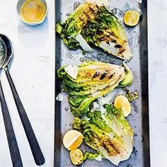 Grilled Caesar Salad Recipe | MyRecipes.com