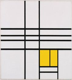 Composition by Piet Mondrian, 1936