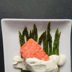 Poached Salmon with Sauce Recipe