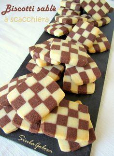 Biscotti sablé scacchiera