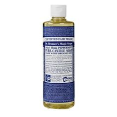 Dr. Bronners 18-in-1 Hemp Peppermint Pure Castile Soap   Whole Foods Market Lots of great comments about uses below product