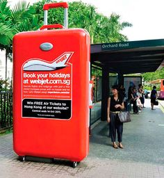 Webjet the World: Supersized 3D Luggage http://arcreactions.com/5-highly-influential-online-marketing-practices-will-shape-2015/