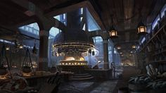 The Kitchens Tommy Scott Concept art Painting Concept