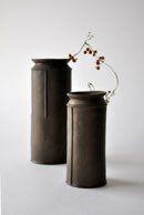 vase   brown   keiichi tanaka