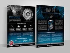 Design a workshop flyer for an award-winning book! by Adwindesign