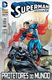 LIGA HQ - COMIC SHOP SUPERMAN (52) #32 - Superman - DC Comics PARA OS NOSSOS HERÓIS NÃO HÁ DISTÂNCIA!!!