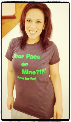 Your Pace or Mine?!?!? -Glamour Shots version #oppermacher