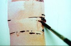 Painting Birch Trees - Watercolor Lesson
