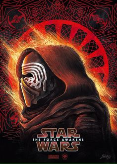 Star Wars The Force Awakens: Dark Side By Ladislas Chachignot
