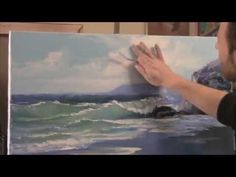 HOW TO PAINT FOAM An oil painting demonstration by Alan Kingwell - YouTube
