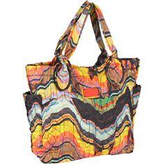 Marc by Marc Jacobs - Pretty Nylon Medium Tate (Rainbow Multi) - Bags and Luggage, $185.00 | www.findbuy.co #MarcbyMarcJacobs