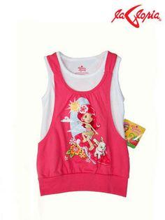 Y para las fanáticas de la adorable – Rosita Fresita esta #camiseta doble. Encuentrala en 3er.Piso