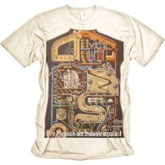 Man as Industrial Palace Unisex T-shirt Description Fritz Kahn s  chromolithograph Der Mensch als d515081d584